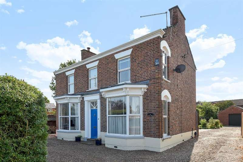 4 Bedrooms Detached House for sale in Louth Road, Horncastle, Lincs, LN9 5EN