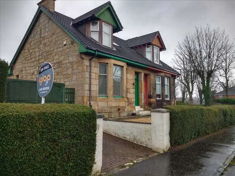 3 Bedrooms Semi Detached House for sale in Addie Street, Motherwell