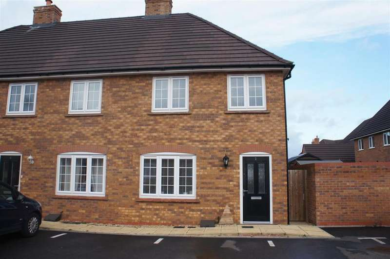 3 Bedrooms End Of Terrace House for sale in Rustic Close, Stewartby, Bedford