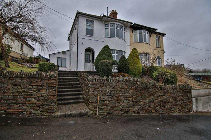 3 Bedrooms Semi Detached House for sale in Gelli Road, Tredegar