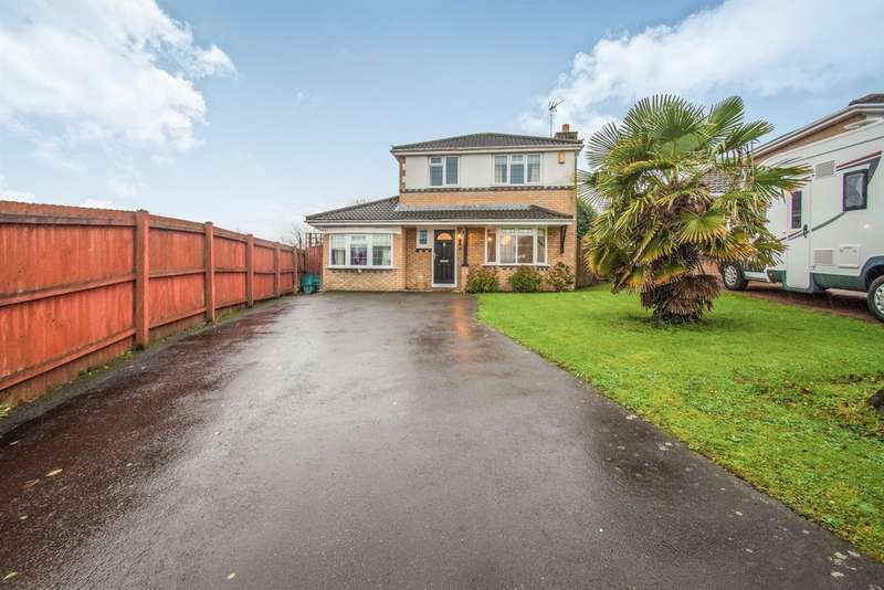 4 Bedrooms Detached House for sale in Brookfield Avenue, Barry