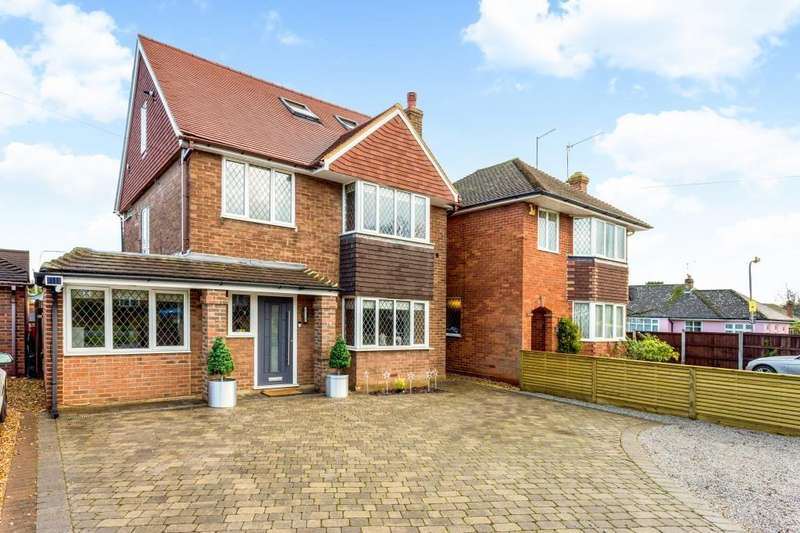 4 Bedrooms Detached House for sale in Crossways, Shenfield, Brentwood, CM15 8QX