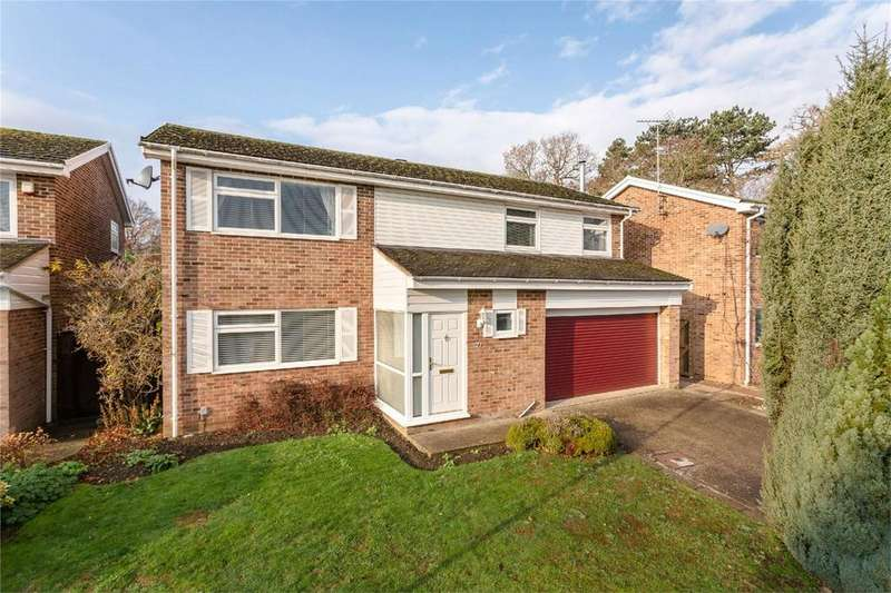 4 Bedrooms Detached House for sale in Willow Close, BISHOP'S STORTFORD, Hertfordshire