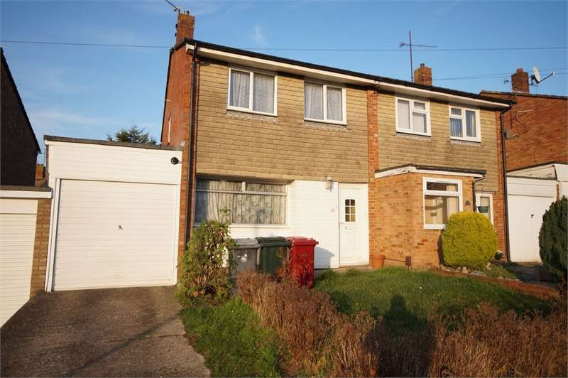 3 Bedrooms Semi Detached House for sale in Corinne Close, READING, Berkshire