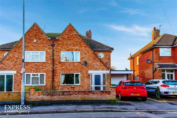 3 Bedrooms Semi Detached House for sale in Balmoral Road, Melton Mowbray, Leicestershire