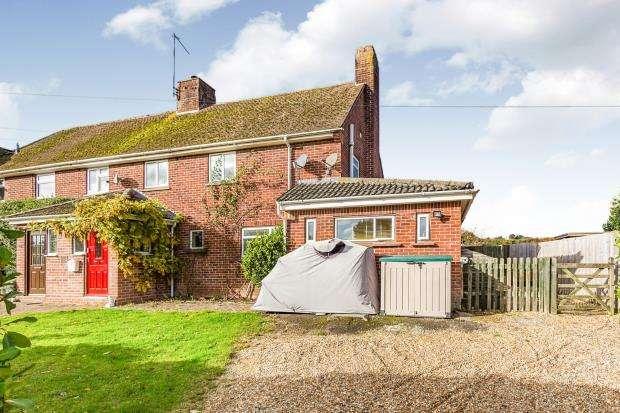 4 Bedrooms Semi Detached House for sale in Sherborne St. John, Hampshire, Basingstoke