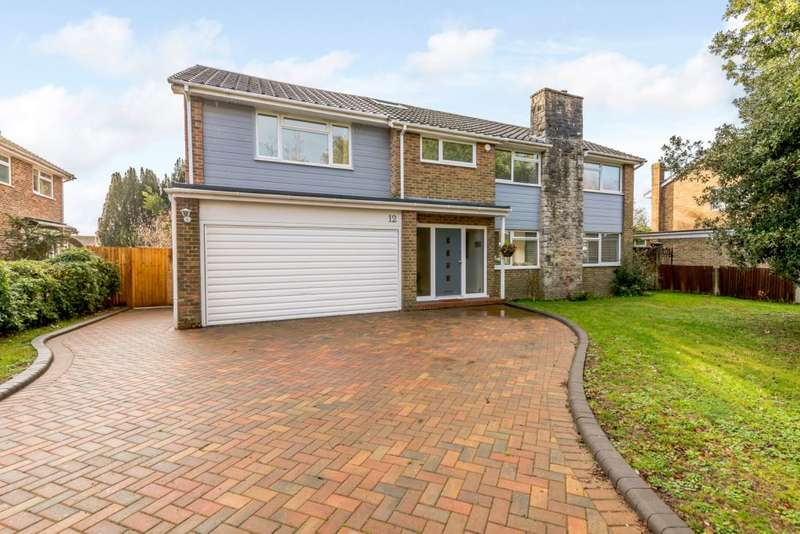 5 Bedrooms Detached House for sale in Longlands Spinney, Worthing, West Sussex BN14 9NU
