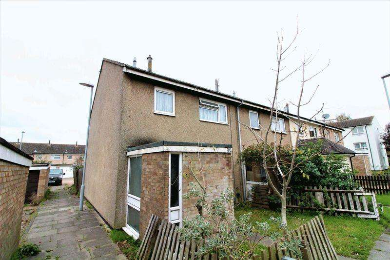 3 Bedrooms End Of Terrace House for sale in Three Bedroom End of Terrace on Burnt Close, Luton