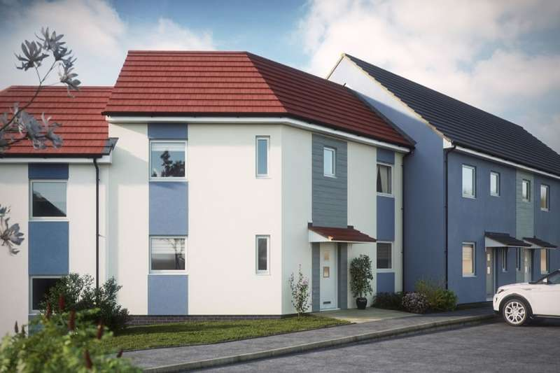 3 Bedrooms Semi Detached House for sale in The Elm Poets Corner, Manadon, Plymouth, PL5