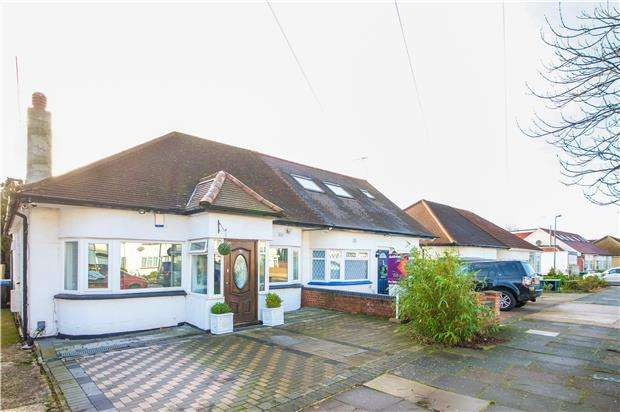 2 Bedrooms Semi Detached Bungalow for sale in Wood Lane, LONDON, NW9 7PA