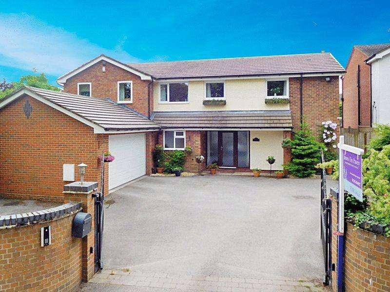 4 Bedrooms Detached House for sale in Aynsleys Drive, Blythe Bridge Stoke-On-Trent