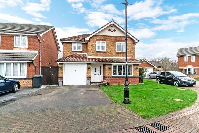 4 Bedrooms Detached House for sale in Malmesbury Park, Sandymoor, Runcorn, WA7