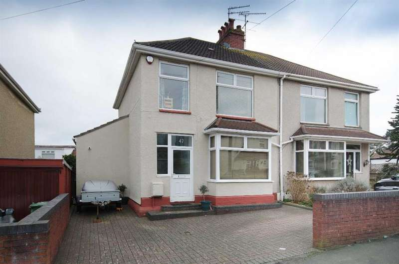 3 Bedrooms Semi Detached House for sale in Park Road, Staple Hill, Bristol, BS16 5LQ