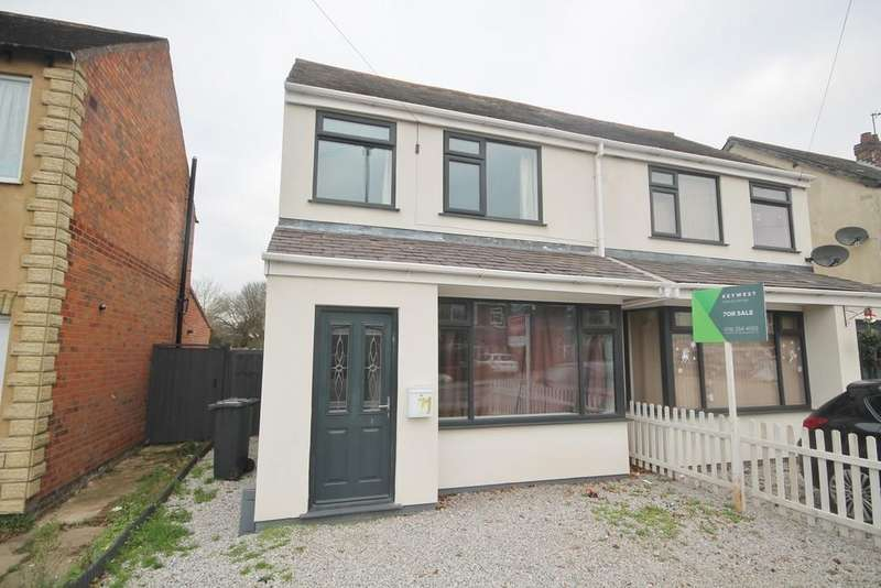 3 Bedrooms Semi Detached House for sale in Humberstone Lane, Thurmaston, Leicester LE4