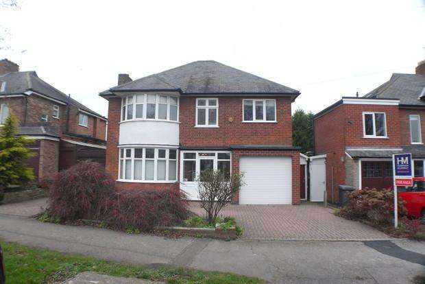4 Bedrooms Detached House for sale in Letchworth Road, Western Park, Leicester, LE3