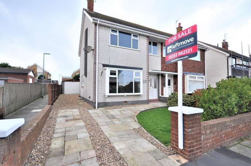 3 Bedrooms Semi Detached House for sale in Kirkstone Drive, Cleveleys, Thornton Cleveleys, Lancashire, FY5 1QH
