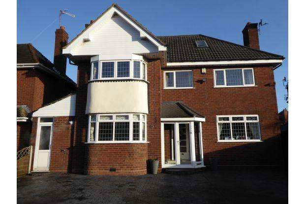 5 Bedrooms House for sale in BIRMINGHAM ROAD, WALSALL