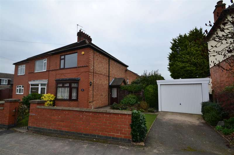 2 Bedrooms Semi Detached House for sale in Milton Street, Loughborough, Leicestershire