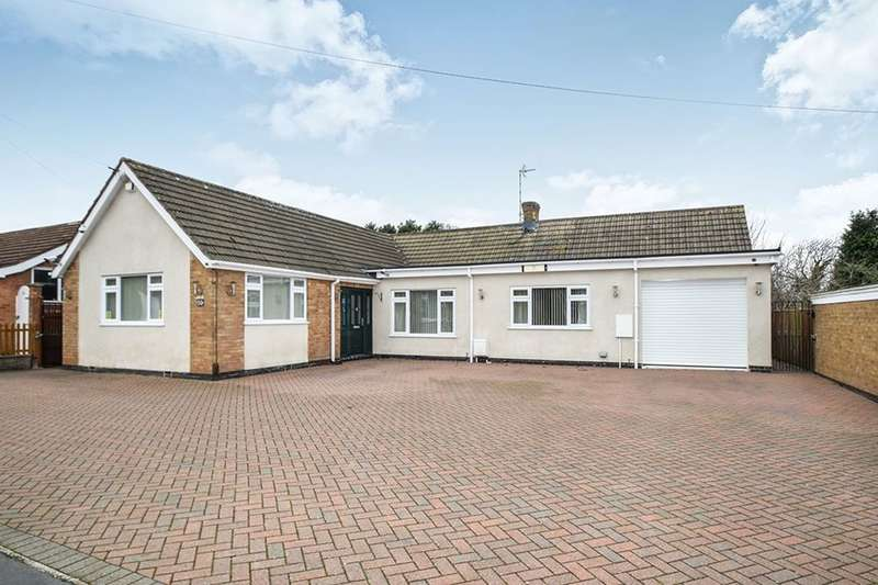 4 Bedrooms Detached Bungalow for sale in Barry Drive, Kirby Muxloe, Leicester, LE9
