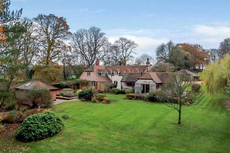4 Bedrooms Detached House for sale in Enborne, Newbury, Berkshire