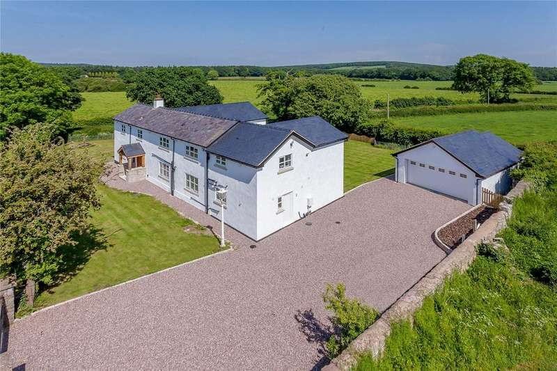 4 Bedrooms Detached House for sale in Llys Helyg, Lloc, Holywell, CH8