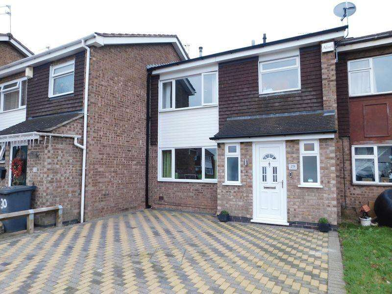 3 Bedrooms House for sale in Ashlyns Rise, Leicester
