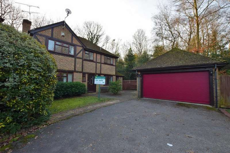 4 Bedrooms Detached House for sale in Marjoram Close, Farnborough