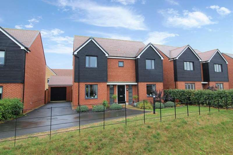 4 Bedrooms Detached House for sale in Ashpole Avenue, Wootton MK43