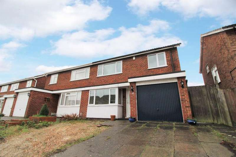 3 Bedrooms Semi Detached House for sale in Leyside, Bromham MK43