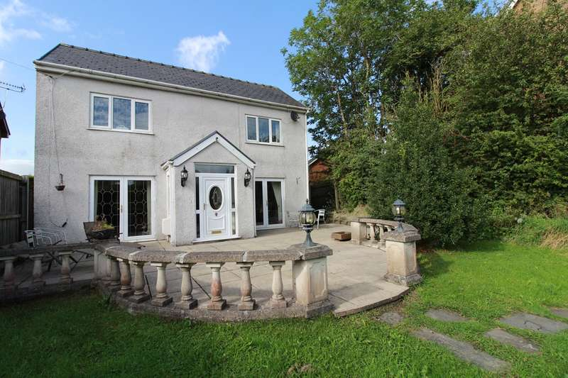 4 Bedrooms Detached House for sale in 15 Old Blaenavon Road, Brynmawr, EBBW VALE, NP23