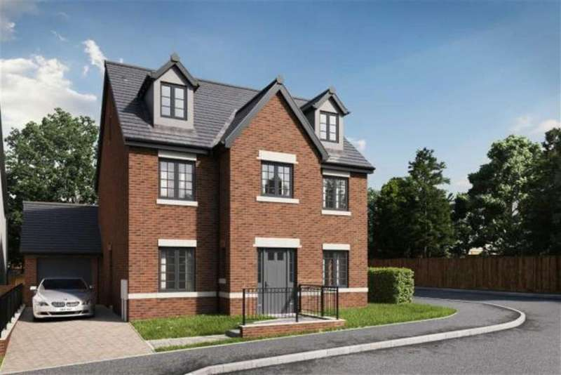 4 Bedrooms Detached House for sale in Copper Beeches, Killay, Swansea