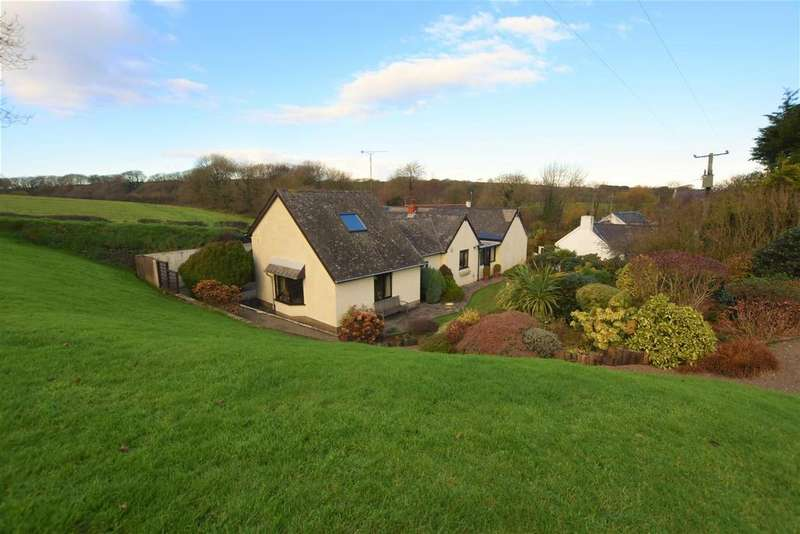 4 Bedrooms Detached House for sale in Little Rickeston, Milford Haven