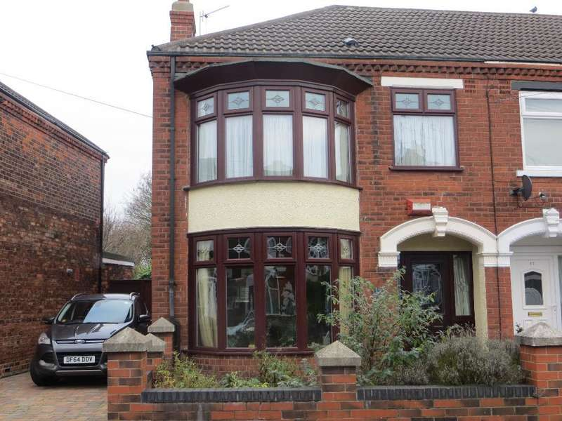 3 Bedrooms End Of Terrace House for sale in Claremont Avenue, Beresford Avenue, Hull, HU6 7ND