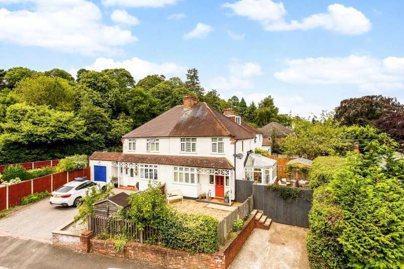3 Bedrooms Semi Detached House for sale in Church Road, Sunningdale