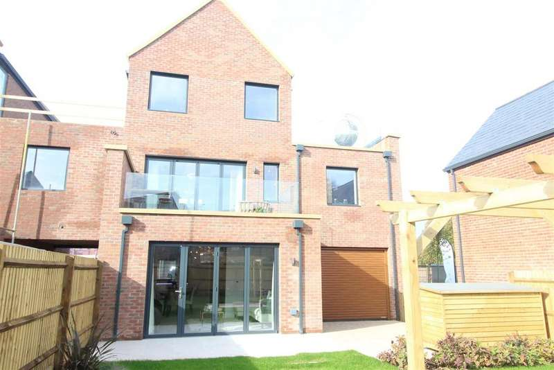 4 Bedrooms Town House for sale in Plot 25, Radbrook Village, Radbrook Road, Shrewsbury