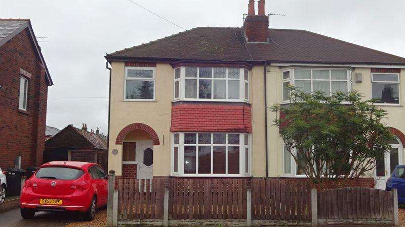 3 Bedrooms Semi Detached House for sale in Brindle Road, Preston