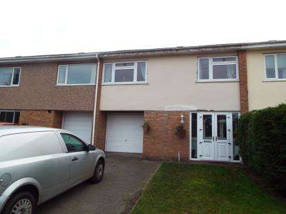 2 Bedrooms Terraced House for sale in Sussex Gardens, Wrexham, LL11