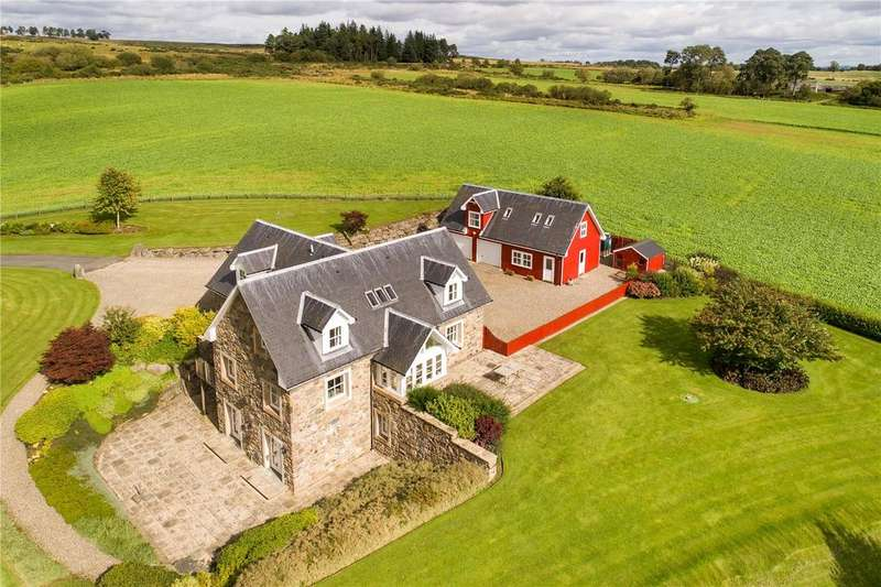 5 Bedrooms Detached House for sale in Ballandee, Logiealmond, Perth, PH1