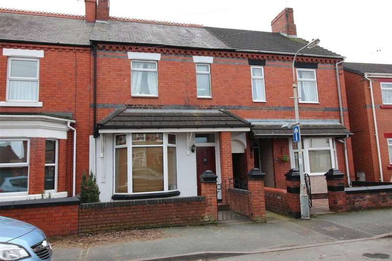 3 Bedrooms Terraced House for sale in Cross Street, Rhosddu, Wrexham, LL11