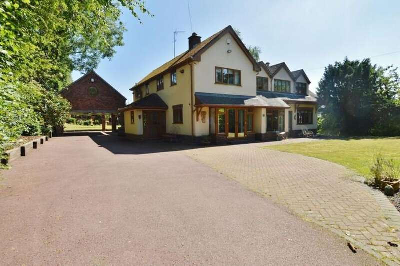 6 Bedrooms Detached House for sale in High Croft, Little Haywood
