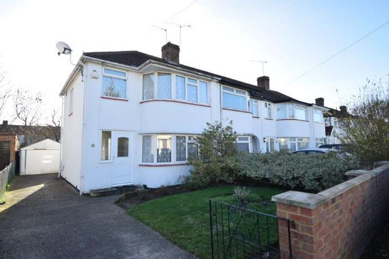 3 Bedrooms End Of Terrace House for sale in Wiltshire Avenue, Slough, SL2