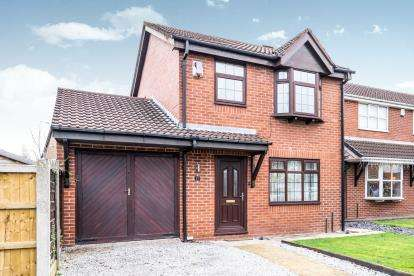 3 Bedrooms Detached House for sale in Oban Grove, Fearnhead, Warrington, Cheshire
