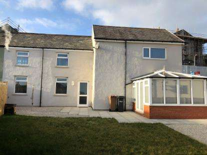 3 Bedrooms Semi Detached House for sale in Stamford Cottages, Halkyn Road, Holywell, Flintshire, CH8