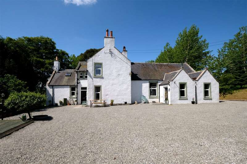 5 Bedrooms Detached House for sale in Achnasolas & Rowan Cottage, Longhill, Huntly, Aberdeenshire, AB54