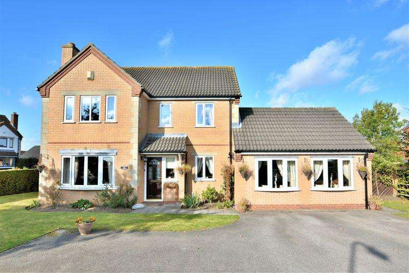 4 Bedrooms Detached House for sale in Sudbrooke Road, Scothern, Lincoln