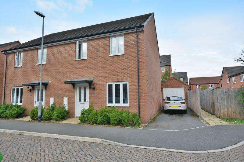 3 Bedrooms Semi Detached House for sale in Iris Crescent, West End, Lincoln
