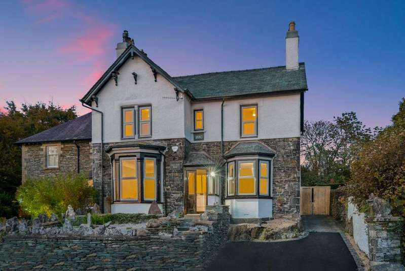 4 Bedrooms Detached House for sale in Sunny Bank House, Princes Road, Windermere, LA23 2DD
