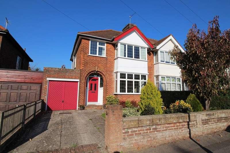 3 Bedrooms Semi Detached House for sale in Selwyn Crescent, Hatfield, AL10
