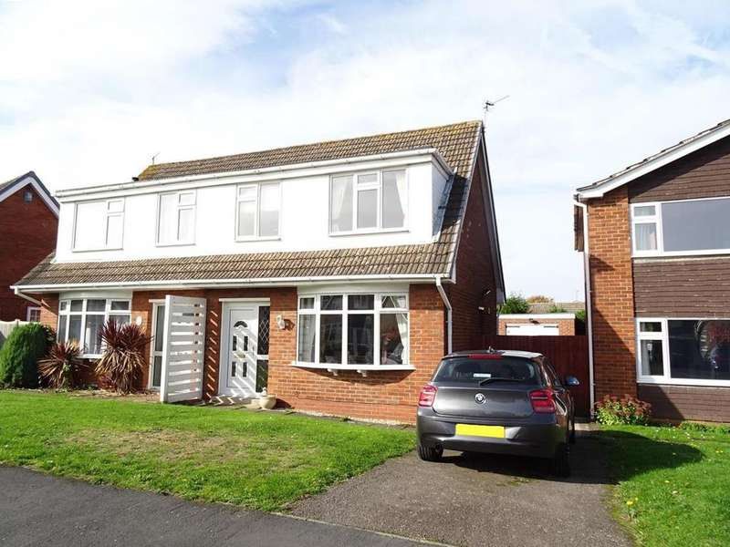 3 Bedrooms Semi Detached House for sale in Conway Drive, Shepshed