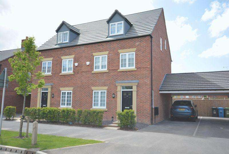 3 Bedrooms Semi Detached House for sale in Wharford Lane, Sandymoor, Cheshire
